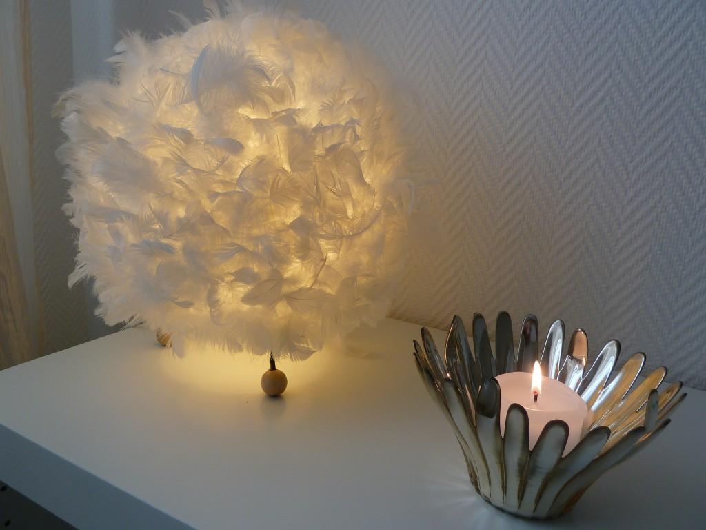 fjäderlampan